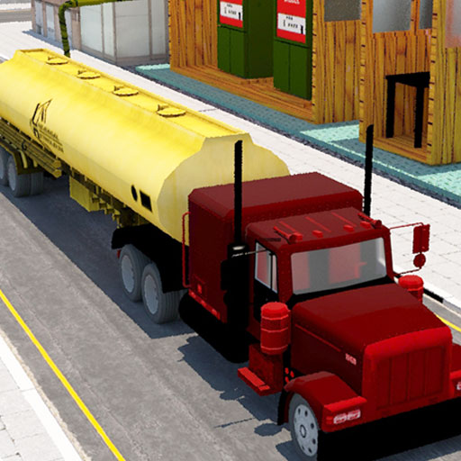 Oil Tanker Transporter Truck Driving Simulation